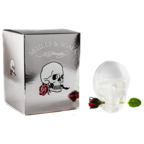 Ed Hardy Skulls & Roses 2.5 oz EDP for women