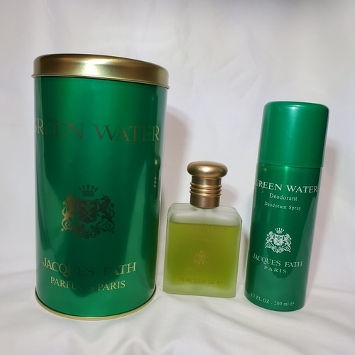 Green Water by Jacques Fath 2.5 oz gift set for men