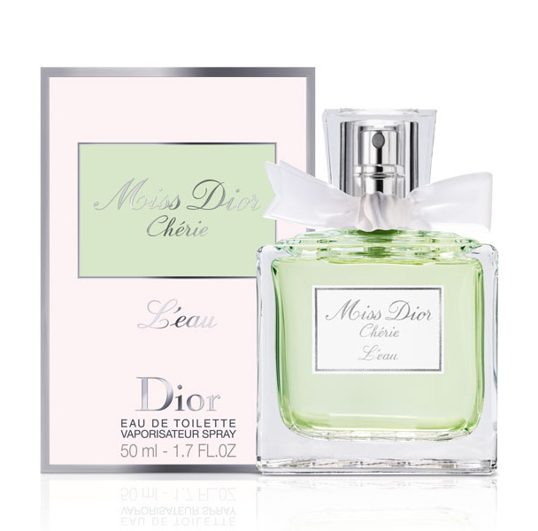 Miss Dior Cherie L'Eau by Christian Dior 3.4 oz EDT for women